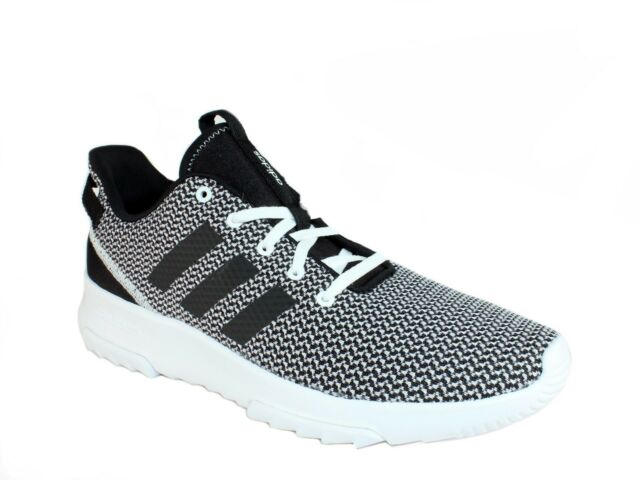 half off 52cfb 816f2 Adidas CF RACER TR Mens Athletic Trail Running Shoes Sneakers Black White