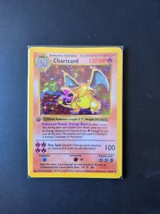 Charizard Base Shadowless Set Pokemon PROXY NO HOLO