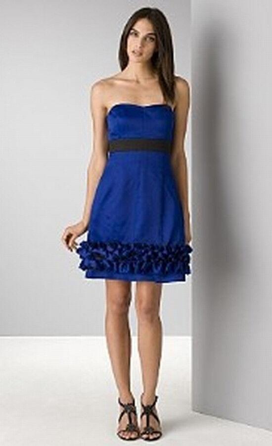 Phoebe Couture New  330 Strapless Ruffled Hem  Dress 12
