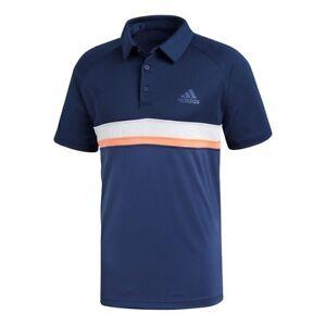 hot sale online 969fa 596f3 ... Adidas-Homme-Couleur-Bloc-Club-Tennis-Polo-Shirt-