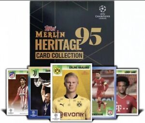 Merlin95 – Topps UEFA Champions League hobby box Cards. Confirmed Order