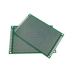 8x12cm Double side Protoboard Circuit Tinned Universal DIY Prototype PCB Board