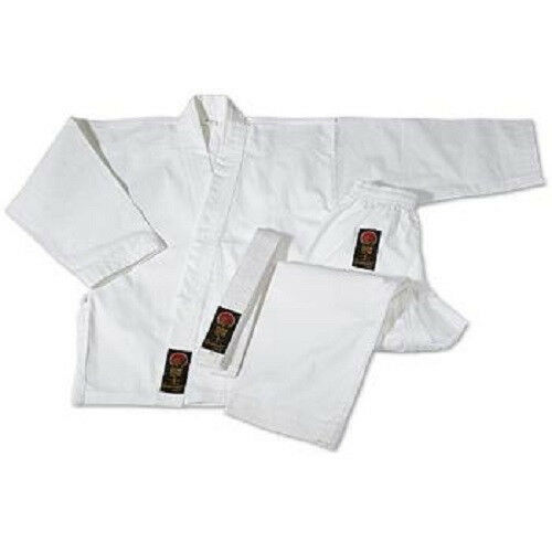 ProForce Karate Uniform Gi Martial Arts - White 00-8