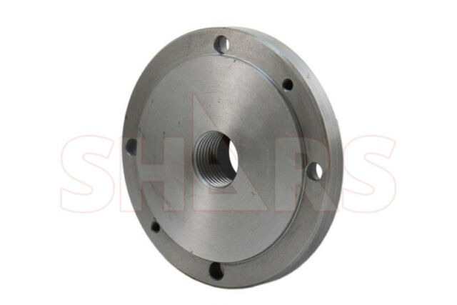 """SHARS 10/"""" SEMI-MACHINED BACK PLATE D1-4 FOR ALL PLAIN BACK LATHE CHUCK NEW"""