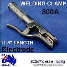 INGCO 500A Welding Electrode Holder Welder Clamp Pure Copper MMA Stick Insulated