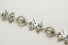 Lisa Jenks XO Sterling Silver Bracelet Vintage