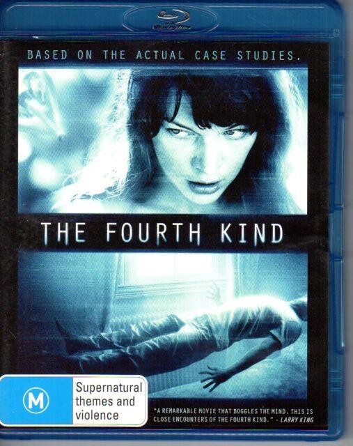THE FOURTH KIND - BLU-RAY REGION B (2010)  Milla Jovovich LIKE - NEW - FREE POST