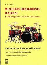Schlagzeug Noten Schule : MODERN DRUMMING BASICS (Diethard Stein) mit CD