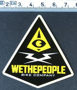WTP-BIKE-COMPANY-Sticker-Aufkleber-BMX-MTB-WeThePeople-Radsport-Frames-Decal