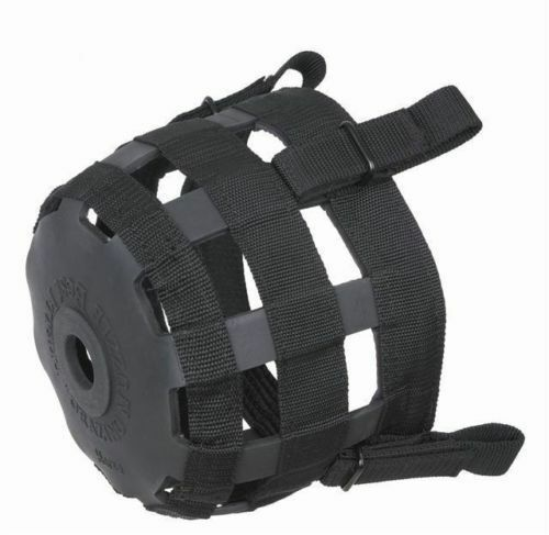 BLACK All Sizes Best Friend Standard Grazing Muzzle