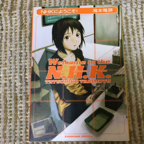 WELCOME TO THE NHK ni Youkoso Novel TATSUHIKO TAKIMOTO Japan Book