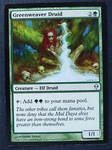 Greenweaver Druid - Mtg Magic Card #X2