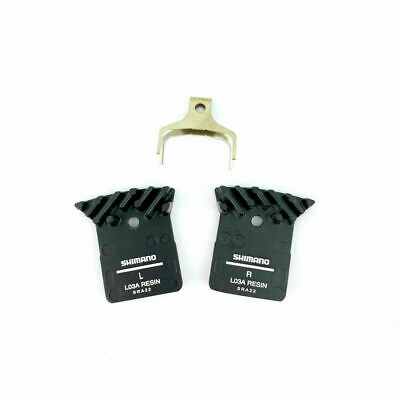 Shimano L02A L03A Resin Disc Brake Pads with Fin for Flat Mount BR R9170//8070