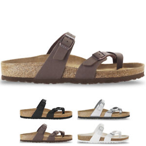 fc2ecb6a16d3 Image is loading Womens-Birkenstock-Mayari-Holiday-Birko-Flor-Beach-Summer-