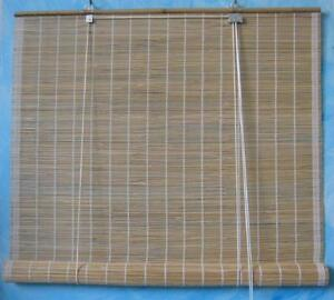Arella In Bamboo Tenda In Canna Fine Con Carrucola 1 2x2 50mt