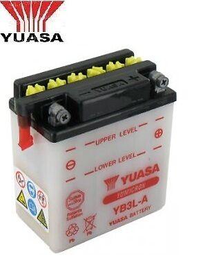 Batterie de Moto Mscooter quad Yuasa  YB3L-A 12v 3Ah Yamaha DT 50