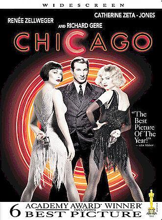 Chicago DVD, 2003, Widescreen  - $1.50