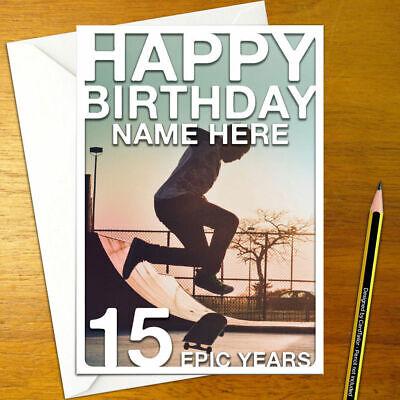 A5 sport pub game dart dartboard bullseye DARTS Personalised Birthday Card