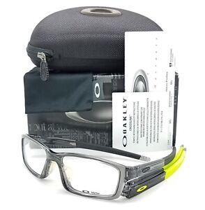 NEW-Oakley-Crosslink-Pitch-RX-Asian-Fit-Frame-OX8041-0256-Grey-Smoke-56mm-8041
