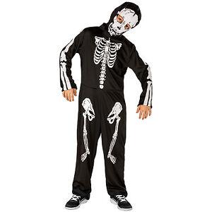 Jungenkostuem-Skeleton-Skelett-Kostuem-Karneval-Fasnacht-Halloween-Kinder-Jungen