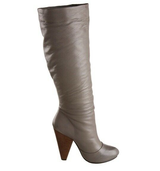 "Women's Very Volatile ""Senorita"" knee High Boots Grey, 10M"