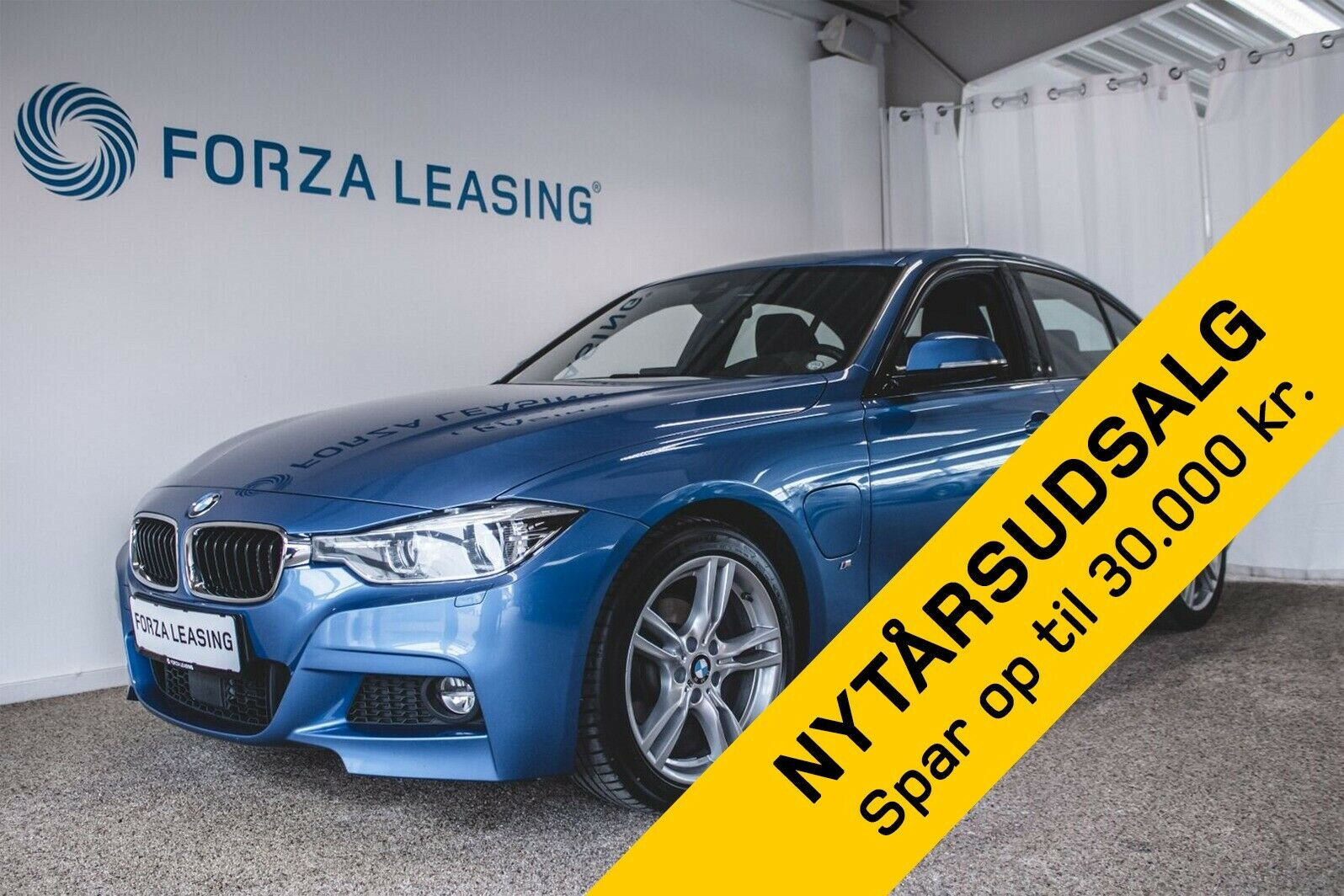 BMW 330e 2,0 iPerformance M-Sport aut. 4d - 1.600 kr.