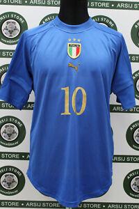 Maglia-calcio-BAGGIO-ITALIA-TG-M-2004-shirt-trikot-maillot-camiseta-jersey