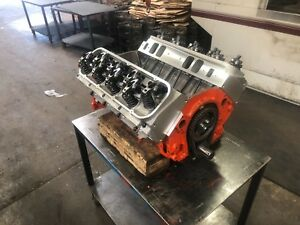 Details about CHEVY CHEVROLET BBC STROKER 496 454 509 ENGINE 576HP 4 BOLT  MAIN 427 540 396