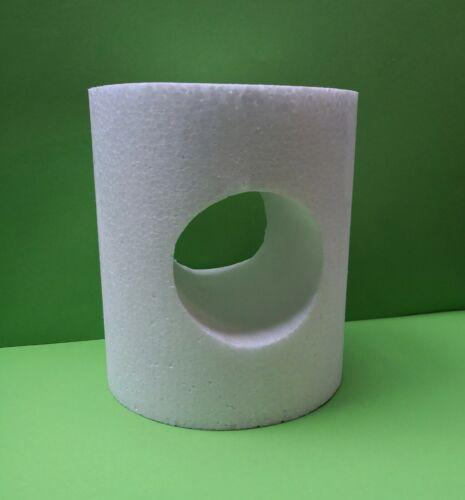Herz Zylinder 19 x 21 cm Geschenkidee Dummy Muffins Herz Kegel Modell Styropor