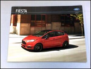 2019-Ford-Fiesta-20-page-Original-Car-Sales-Brochure-Catalog-ST-ST-Line-SE