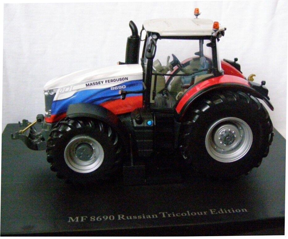 UH4266 - Tracteur MASSEY FERGUSSON 8690 RUSSIAN édité à 1000 unités - 1 32