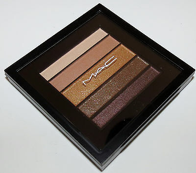 MAC veluxe pearlfusion shadow in brownluxe new in box 0.14 oz
