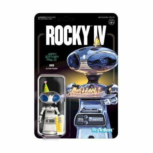Rocky IV SCB Paulie/'s Robot Reaction Figure