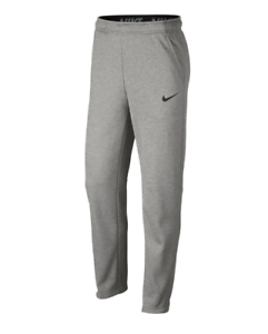 Details about NWT Men's NIKE 932253-063 Therma Fleece Open Bottom Training  Pants Gray ~ XL