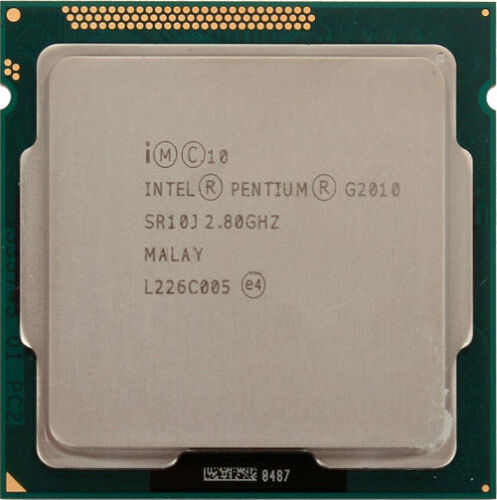 Intel Pentium G2010 Dual Core 2.8GHz 3M Cache CPU Processor SR10J LGA1155 Tray