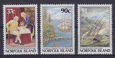 Norfolk Mi Nr. 429 - 431 **, Geschichte History, postfrisch, MNH