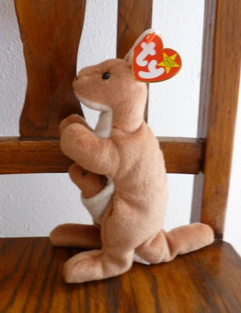 b9f3dff0177 ty BEANIE BABY Collection POUCH the KANGAROO 8
