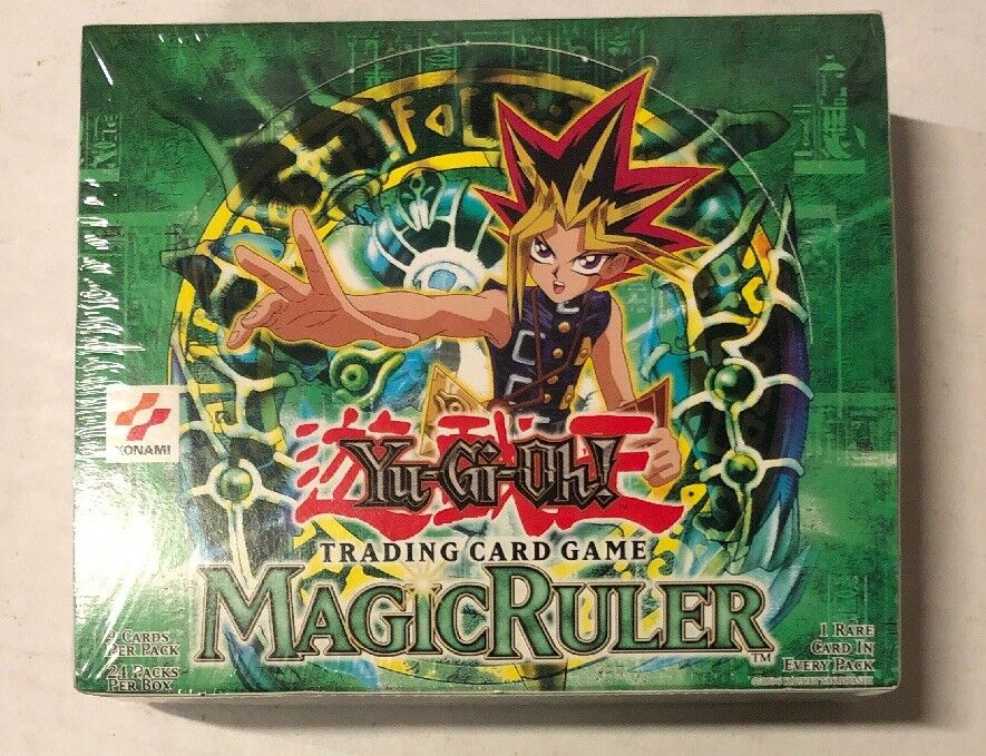 Yugioh Magic Ruler Unlimited  Edition 24-count Booster Box Card Game