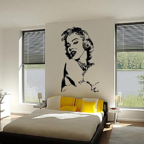 Marilyn Monroe version 2 Vinyl Decal