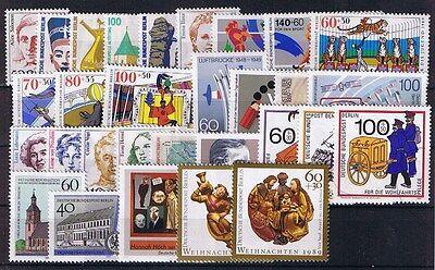 Berlin Jahrgang 1989 Postfrisch **
