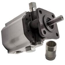 1pcs New 11gpm Hydraulic Log Splitter Pump 2 Stage Hi Lo Gear Pump 3600rpm