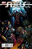 AVENGERS & THE X-MEN AXIS 1 RARE HASTINGS COLOR VARIANT NM