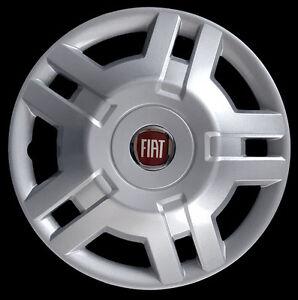 fiat ducato 2009 4er satz radkappen radkappe 15 logo rojo. Black Bedroom Furniture Sets. Home Design Ideas