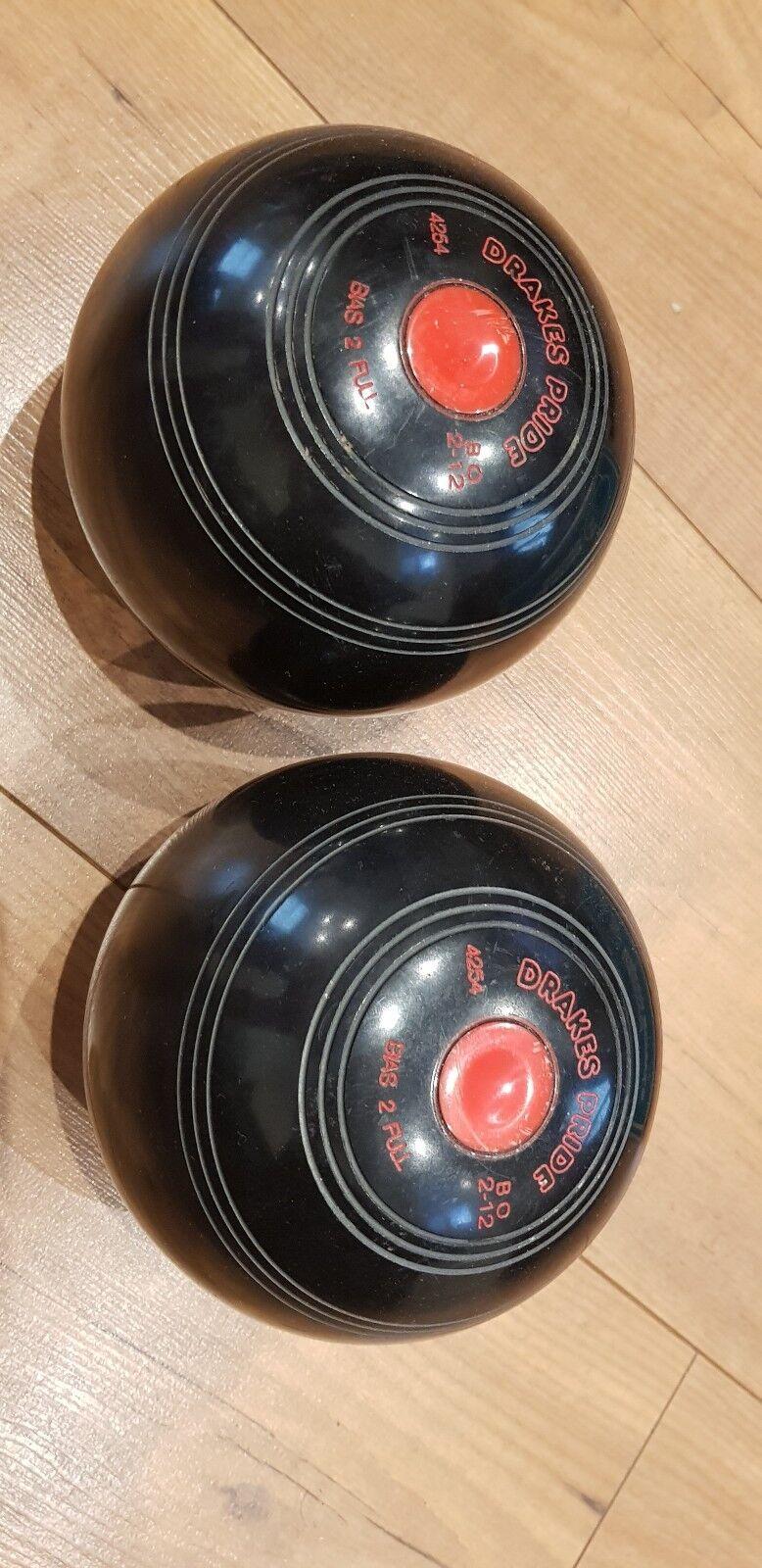 Drakes Pride Professional Bowls 2lbs 12oz