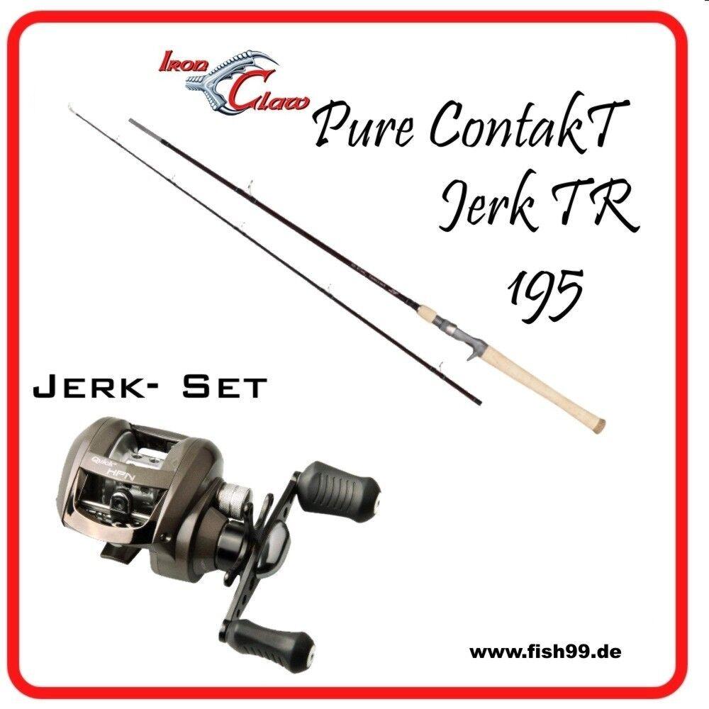 Jerk - Set Set Set Iron Claw bis 120g + DAM Quick 410 LH 81c25f