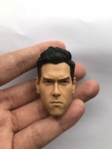 """1:6 Scale Game Male Figure Head Carving Sculpt Model Toy fit 12/"""" Action Body"""
