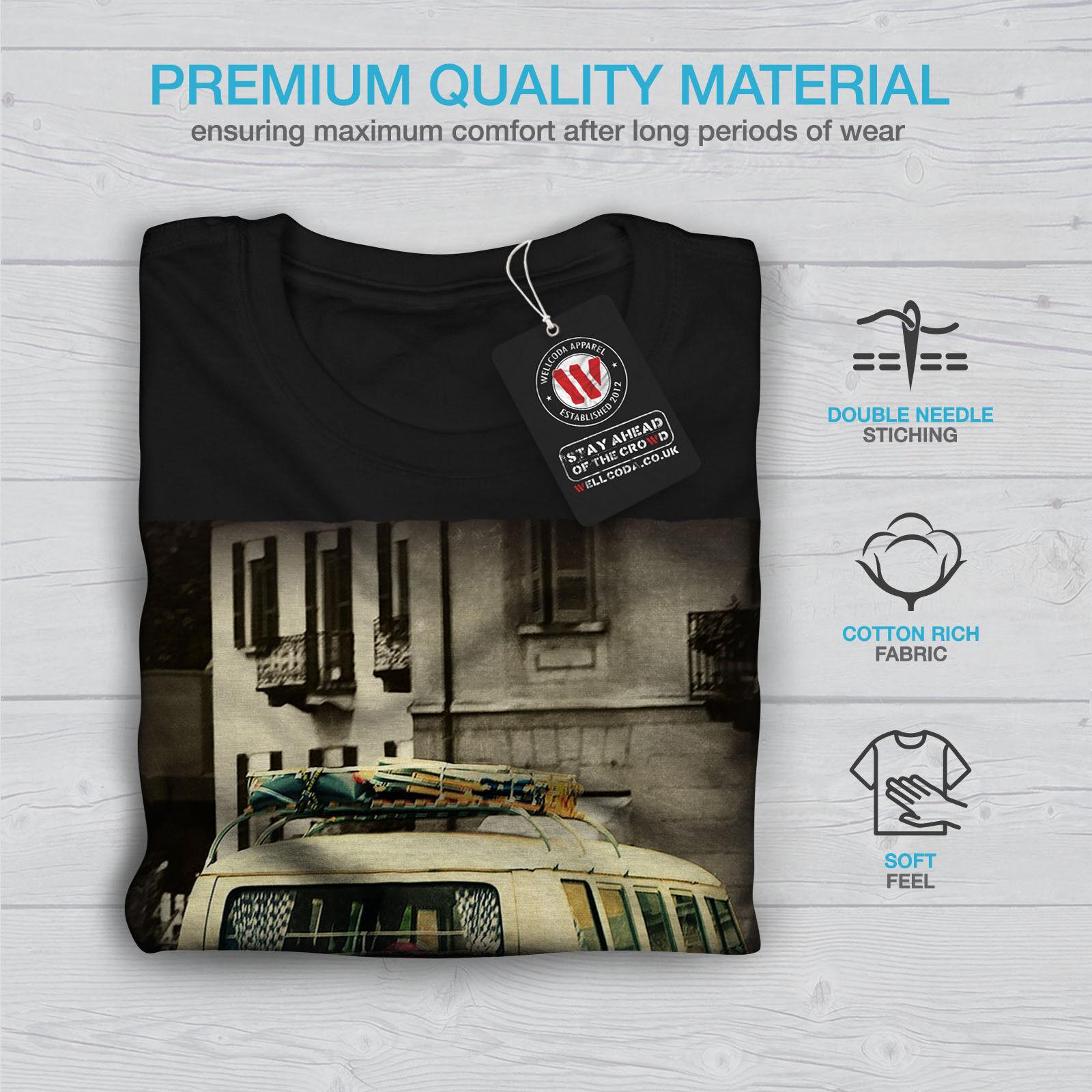 Camion la vie ancienne vintage vintage vintage femme t-shirt à manches longues Nouveau 4258c4
