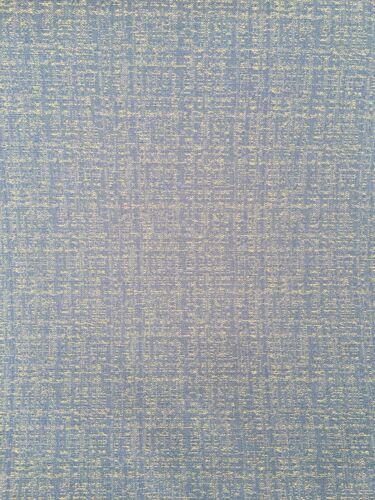 no 327 Tela de tapicería azul y dorado//material de 140 cm de ancho