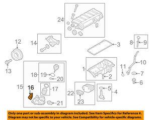 details about bmw oem 09-13 x5 3 0l-l6 engine-oil filter housing gasket  11427788455