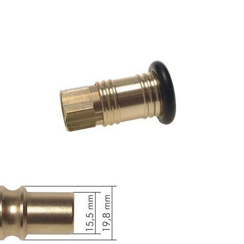 Embrague embrague lata conector NW 12 de latón aire comprimido embrague acoplamiento rápido